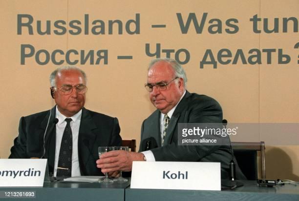 Rußland - was tun? ist das Thema einer internationalen Konferenz der Alfred Herrhausen Gesellschaft am 4.7.1997 in Berlin, an der auch der russische...