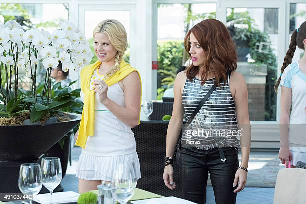 GIRLFRIENDS' GUIDE TO DIVORCE 'Rule Beware of the Second Chance' Episode 206 Pictured Megan Hilty as Charlene Alanna Ubach as Jo