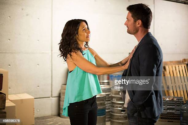 GIRLFRIENDS' GUIDE TO DIVORCE Rule Career Day Is Not For Pussies Episode 201 Pictured Lisa Edelstein as Abby Warren Christie as Will