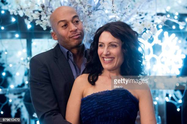 GIRLFRIENDS' GUIDE TO DIVORCE Rule Dont Eat the Yellow Snow Episode 502 Pictured James Leasure as Coach Brady Lisa Edelstein as Abby McCarthy