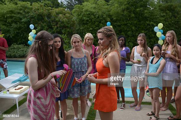 GIRLFRIENDS' GUIDE TO DIVORCE 'Rule Don't Kill the Princess' Episode 107 Pictured Conner Dwelly as Lilly Julianna Guill as Becca