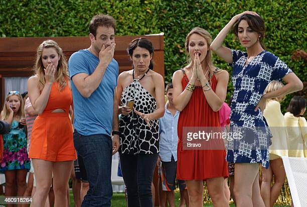 GIRLFRIENDS' GUIDE TO DIVORCE 'Rule Don't Kill the Princess' Episode 107 Pictured Julianna Guill as Becca Paul Adelstein as Jake Lisa Edelstein as...