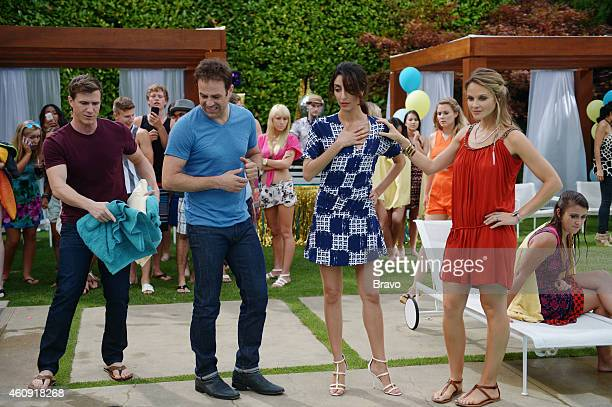 GIRLFRIENDS' GUIDE TO DIVORCE 'Rule Don't Kill the Princess' Episode 107 Pictured Patrick Heusinger as Max Paul Adelstein as Jake Necar Zadegan as...