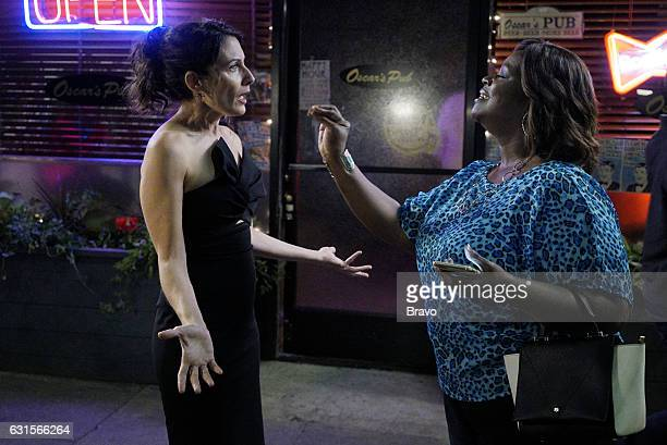 GIRLFRIENDS' GUIDE TO DIVORCE 'Rule Mind Your Side of the Plate' Episode 303 Pictured Lisa Edelstein as Abby McCarthy Retta as Barbara