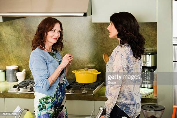 """Rule: No Means...No"""" Episode 207 -- Pictured: Lesley Ann Warren as Diana, Lisa Edelstein as Abby McCarthy --"""