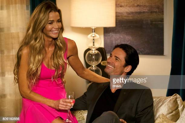 GIRLFRIENDS' GUIDE TO DIVORCE Rule Remember the Aquaduct Episode 401 Pictured Denise Richards as Temple Hampton Warren Christie as Will
