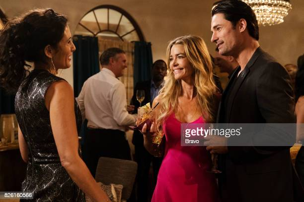 GIRLFRIENDS' GUIDE TO DIVORCE 'Rule Remember the Aquaduct' Episode 401 Pictured Lisa Edelstein as Abby McCarthy Denise Richards as Temple Hampton...