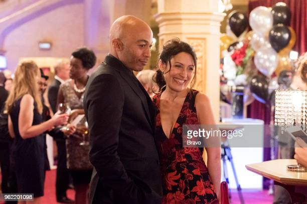 GIRLFRIENDS' GUIDE TO DIVORCE Rule Step and Repeat Episode 501 Pictured James Leasure as Coach Brady Lisa Edelstein as Abby McCarthy