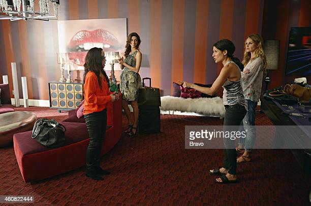GIRLFRIENDS' GUIDE TO DIVORCE Rule When In Doubt Run Away Episode 106 Pictured Janeane Garofalo as Lyla Necar Zadegan as Delia Lisa Edelstein as Abby...