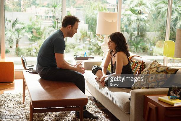 GIRLFRIENDS' GUIDE TO DIVORCE 'Rule When One Door Opens They're an Icy Draft' Episode 301 Pictured Paul Adelstein as Jake McCarthy Lisa Edelstein as...
