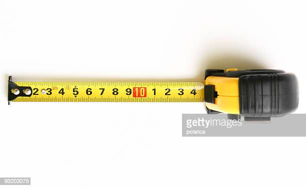 ruler tape - meter unit of length stock pictures, royalty-free photos & images