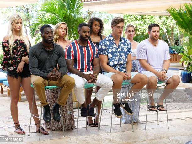 ISLAND Rules Are Made To Be Broken Episode 105 Pictured Hannah Rightmire Javen Butler Brittany Rose Karl Collins Morgan Lolar Evan Smith Lindsay...