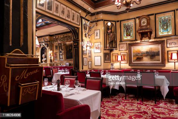 Rules restaurant on the 14th October 2019 in London in the United Kingdom Rules was established in 1798