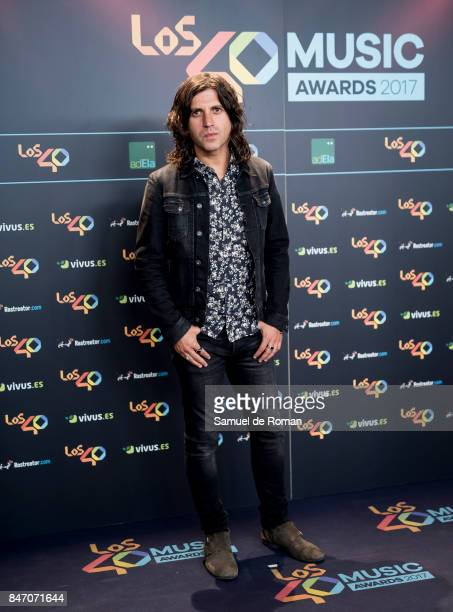Rulo attends 40 Principales Awards candidates dinner 2017 on September 14 2017 in Madrid Spain