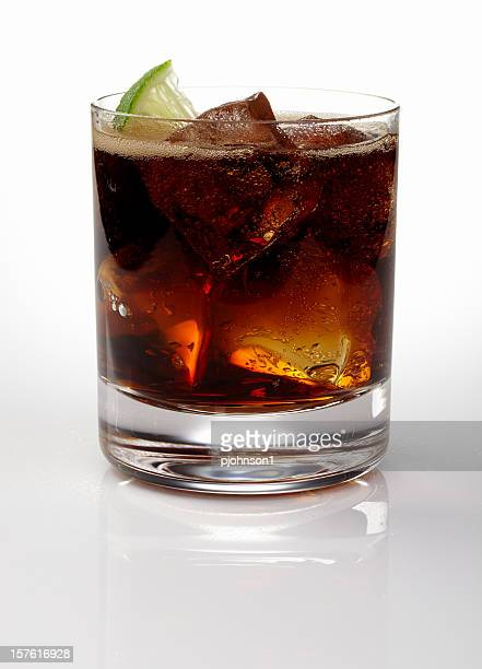 rum and cola - rum stock pictures, royalty-free photos & images