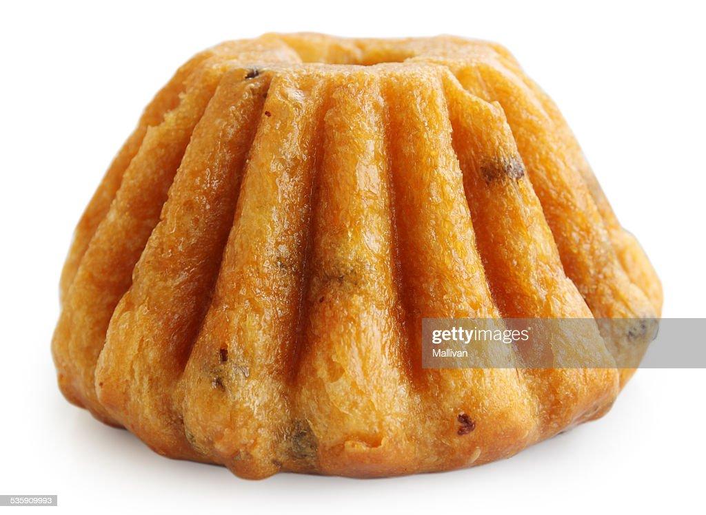 Ron torta, Aislado en blanco : Foto de stock