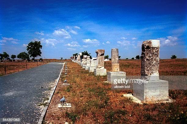Monumente der araechologischen Grabungsstaette von Histria