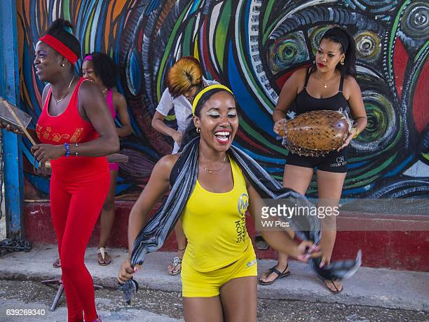 Rumba dancers in Havana Cuba Rumba is a secular genre of Cuban music involving dance percussion and song It originated in the northern regions of Cuba