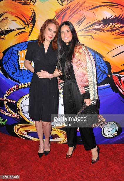 Rumer Willis and Demi Moore attend Christian Louboutin and Sabyasachi Unveil Capsule Collection at Just One Eye on November 16 2017 in Los Angeles...