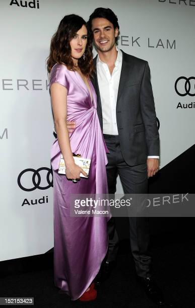 Rumer Willis and Jayson Blair arrives at Audi And Derek Lam Kick Off Emmy Week 2012 party at Cecconi's Restaurant on September 16 2012 in Los Angeles...