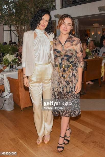 Rumer Willis and Zelda Williams attend The Third Annual Hope and Grace Luncheon In Honor of Mental Health Awareness Month hosted by philosophy and...