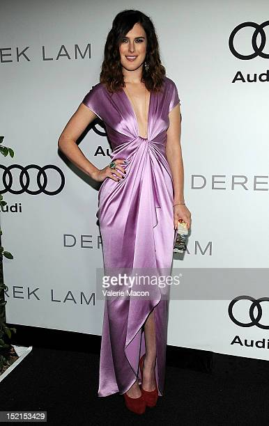 Rumer Willis arrives at Audi And Derek Lam Kick Off Emmy Week 2012 party at Cecconi's Restaurant on September 16 2012 in Los Angeles California