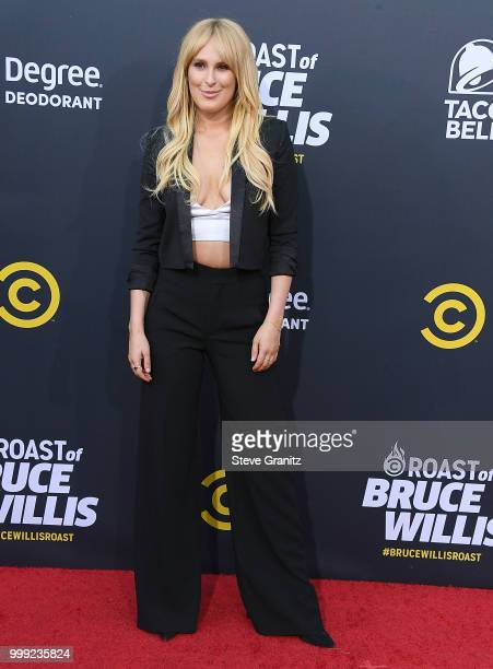 Rumer Willis Arrives At The Comedy Central Roast Of Bruce Willis On July   In