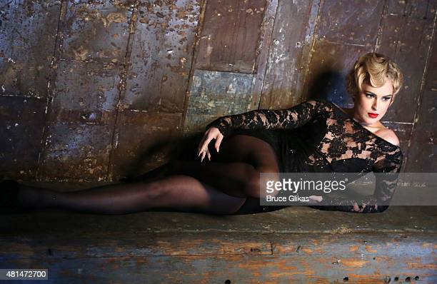 """Rumer Willis as """"Roxie Hart"""" behind the scenes at a photo shoot for her broadway debut in """"Chicago"""" on Broadway at The Highline Studios on July 20,..."""