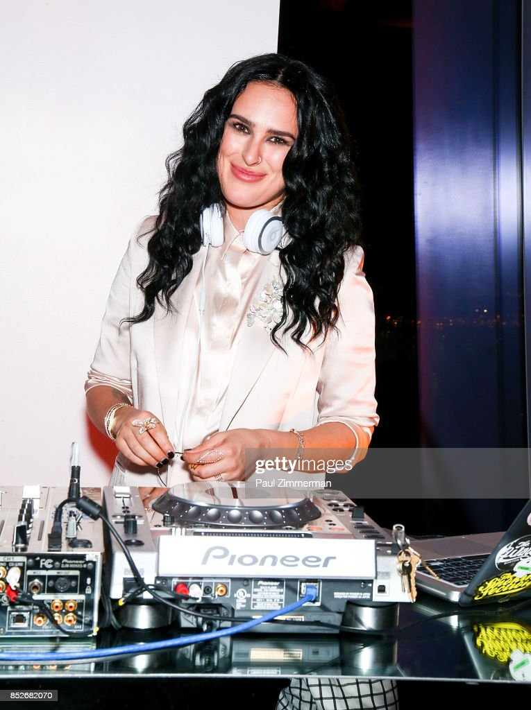 Rumer Willis attends and DJ's the 'Empire' & 'Star' Celebrate FOX's New Wednesday Night at One World Observatory on September 23, 2017 in New York City.