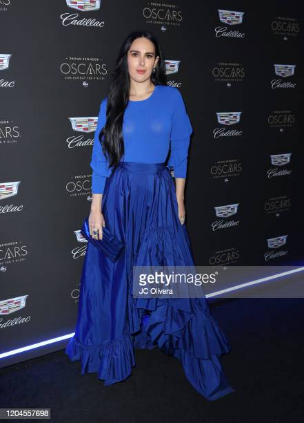 Rumer Willis attends Cadillac Celebrates the 92nd Annual Academy Awards at Chateau Marmont on February 06, 2020 in Los Angeles, California.