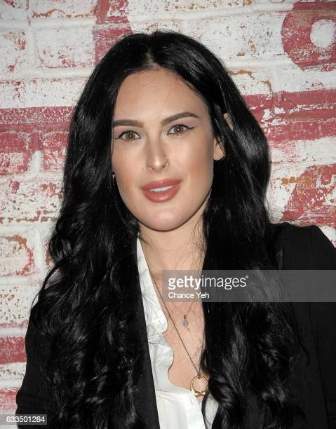 Rumer Willis attends FISHBOWL grand opening party at Dream Midtown on February 1 2017 in New York City