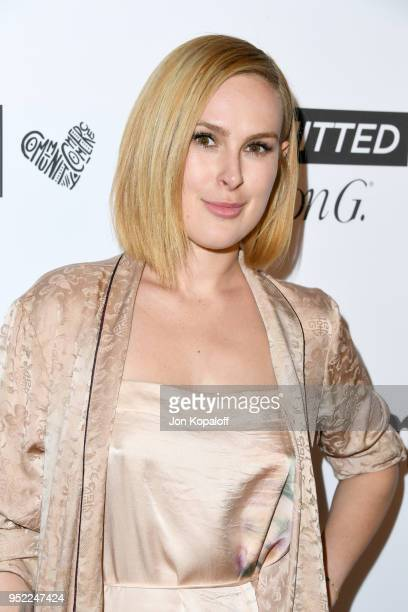 Rumer Willis attends Marie Claire's 5th annual 'Fresh Faces' at Poppy on April 27 2018 in Los Angeles California