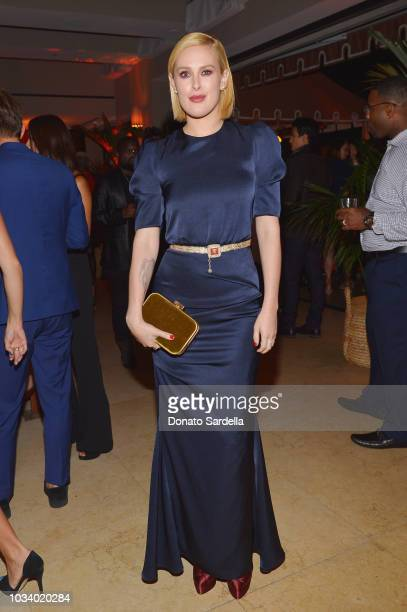 Rumer Willis attends the 2018 PreEmmy Party hosted by Entertainment Weekly and L'Oreal Paris at Sunset Tower on September 15 2018 in Los Angeles...