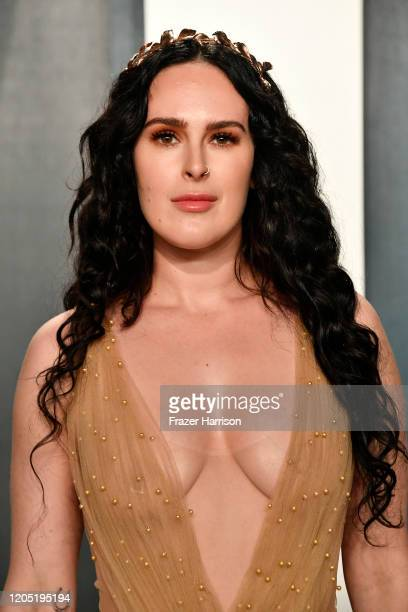 Rumer Willis attends the 2020 Vanity Fair Oscar Party hosted by Radhika Jones at Wallis Annenberg Center for the Performing Arts on February 09 2020...