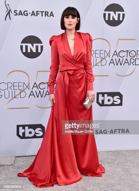 Rumer Willis attends the 25th Annual Screen Actors Guild Awards at The Shrine Auditorium on January 27, 2019 in Los Angeles, California.