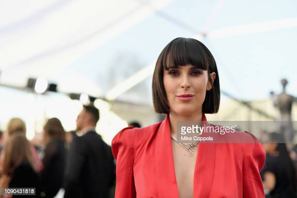 Rumer Willis attends the 25th Annual Screen ActorsGuild Awards at The Shrine Auditorium on January 27, 2019 in Los Angeles, California. 480543