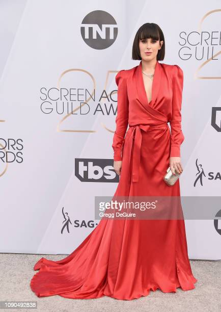 Rumer Willis attends the 25th Annual Screen Actors Guild Awards at The Shrine Auditorium on January 27 2019 in Los Angeles California 480645