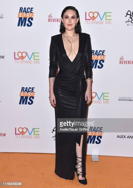 Rumer Willis attends the 26th Annual Race to Erase MS Gala at The Beverly Hilton Hotel on May 10, 2019 in Beverly Hills, California.