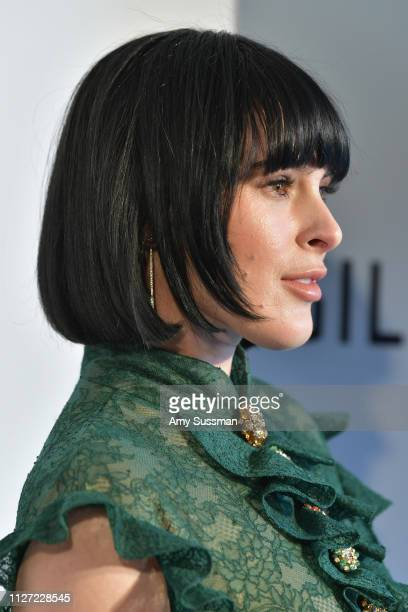 Rumer Willis attends the 27th annual Elton John AIDS Foundation Academy Awards Viewing Party celebrating EJAF and the 91st Academy Awards on February...