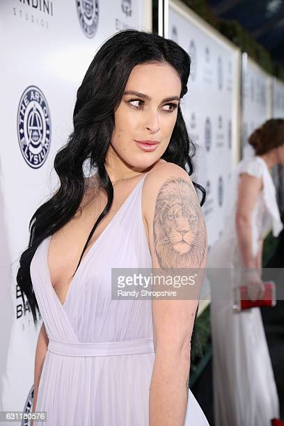 Rumer Willis attends The Art of Elysium presents Stevie Wonder's HEAVEN - Celebrating the 10th Anniversary at Red Studios on January 7, 2017 in Los...