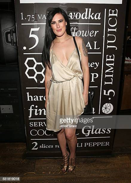 Rumer Willis attends the Dancing With The Stars Semi Finals Episode Celebration at Mixology Grill and Lounge on May 16 2016 in Los Angeles California
