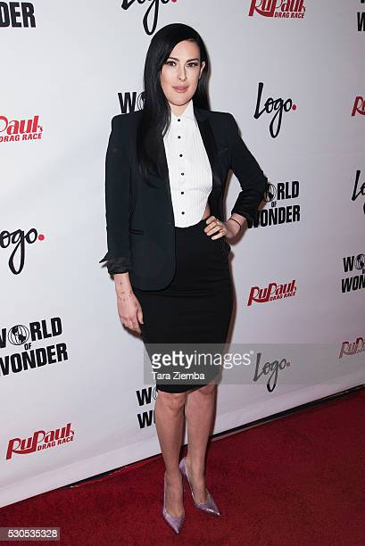 Rumer Willis attends the Finale of Logo's 'RuPaul's Drag Race' Season 8 at The Orpheum Theatre on May 10 2016 in Los Angeles California