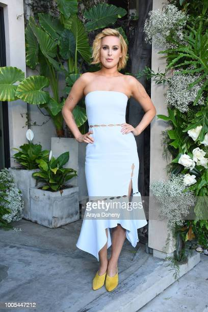 Rumer Willis attends the Jonathan Simkhai opens new retail store and brand headquarters In Los Angeles event at Jonathan Simkhai on July 25 2018 in...
