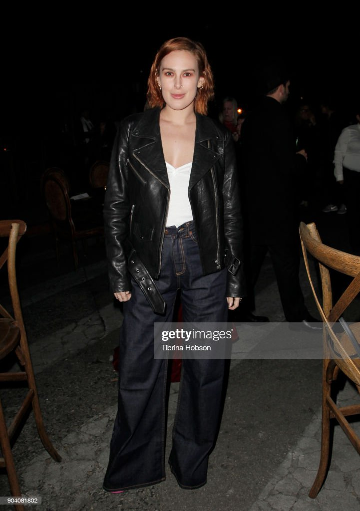 Rumer Willis attends the premiere of TNT's 'The Alienist' after party on January 11, 2018 in Los Angeles, California.
