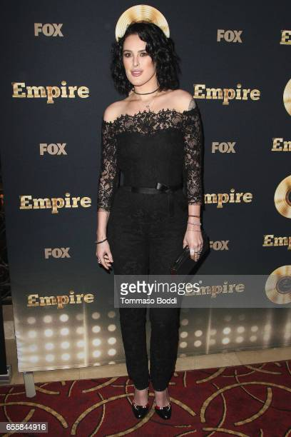 """Rumer Willis attends the Spring Premiere Of FOX's """"Empire"""" at Pacific Theatres at The Grove on March 20, 2017 in Los Angeles, California."""