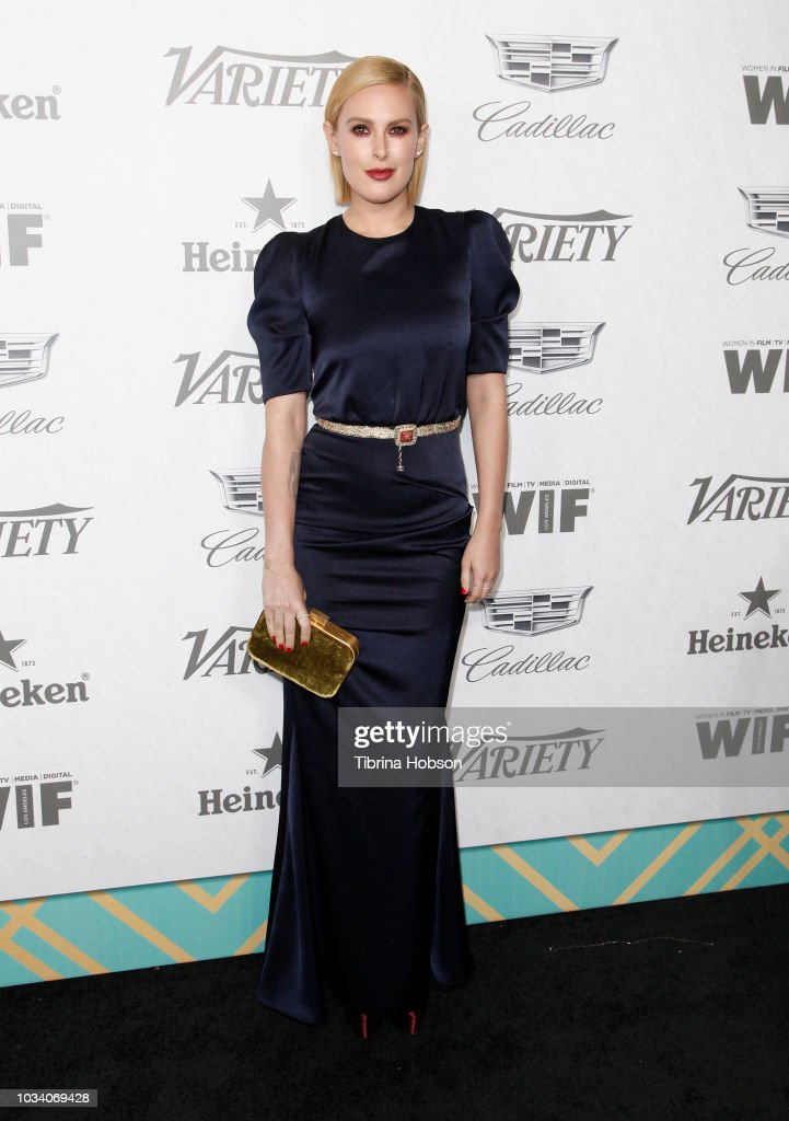 Rumer Willis attends Variety and Women In Film's 2018 Pre-Emmy Celebration at Cecconi's on September 15, 2018 in West Hollywood, California.