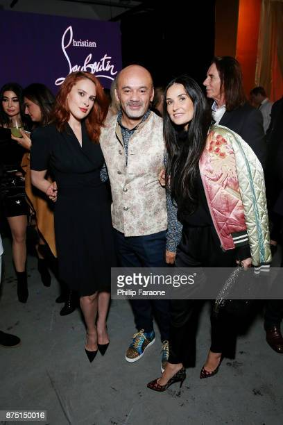 Rumer Willis Christian Louboutin and Demi Moore attend Christian Louboutin and Sabyasachi Unveil Capsule Collection at Just One Eye on November 16...