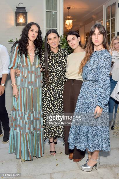 Rumer Willis, Demi Moore, Tallulah Willis and Scout Willis attend Demi Moore's 'Inside Out' Book Party on September 23, 2019 in Los Angeles,...
