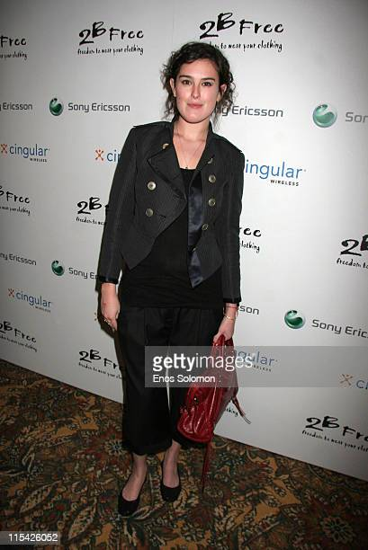 Rumer Willis during Sony Ericsson and Cingular Wireless Present The 2 B Free Fall 2006 Collection Red Carpet at Regent Beverly Wilshire in Beverly...