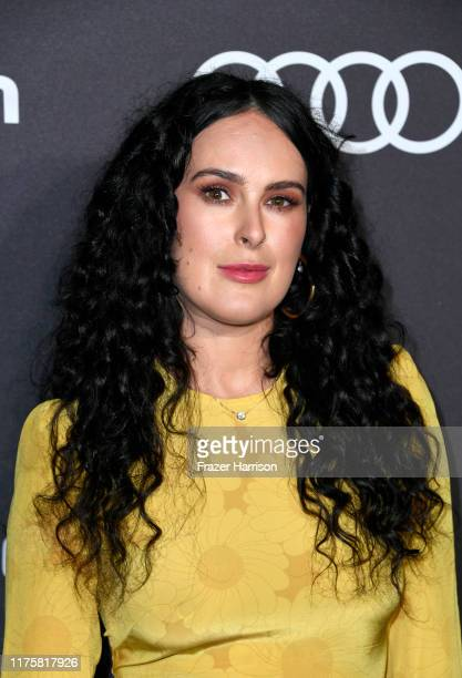 Rumer Willis is seen as Audi celebrates the 71st Emmys at Sunset Tower on September 19, 2019 in Los Angeles, California.